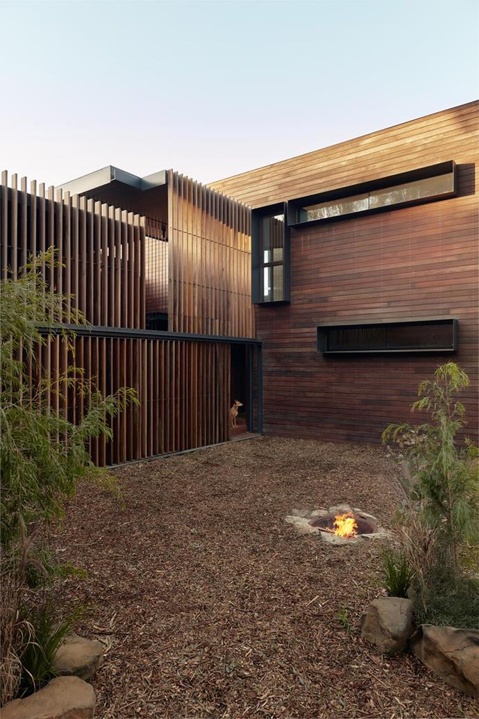 "Built with a deep respect for country, this [home in Melbourne's north](https://www.homestolove.com.au/sustainable-home-architecture-melbourne-21729|target=""_blank"") showcases what can happen when architecture is at one with nature. Photo: Tom Ross"