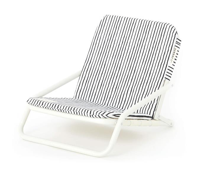 """Natural Instinct Beach Chair, $149, [Sunday Supply Co.](https://sundaysupply.co/collections/beach-chairs/products/natural-instinct-beach-chair
