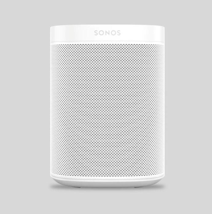 "Smart Sound speaker in white, $649, [Sonos](https://www.sonos.com/en-au/shop/one.html|target=""_blank""
