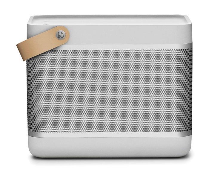 "Bang & Olufsen Beolit 17 Portable Wireless Speaker, $850, [David Jones](https://www.davidjones.com/electrical/audio-and-speakers/wireless-speakers/21393568/Beolit-17-Portable-Wireless-Bluetooth-Speaker---Natural.html|target=""_blank""|rel=""nofollow"")."