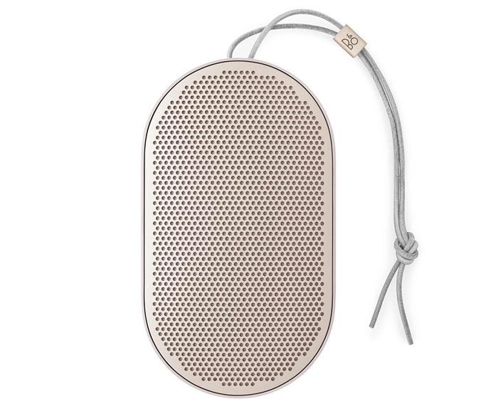 "Bang & Olufsen Beoplay P2 Portable Wireless Speaker, $289, [JB Hi-Fi](https://www.jbhifi.com.au/products/bo-beoplay-p2-portable-wireless-bluetooth-speaker-sand-stone|target=""_blank""|rel=""nofollow"")."