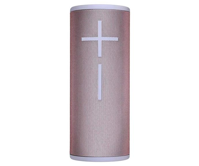 "Ultimate Ears BOOM 3 Portable Bluetooth Speaker, $199, [JB Hi-Fi](http://www.jbhifi.com.au/products/ultimate-ears-boom-3-portable-bluetooth-speaker-seashell-pink|target=""_blank""|rel=""nofollow"")."