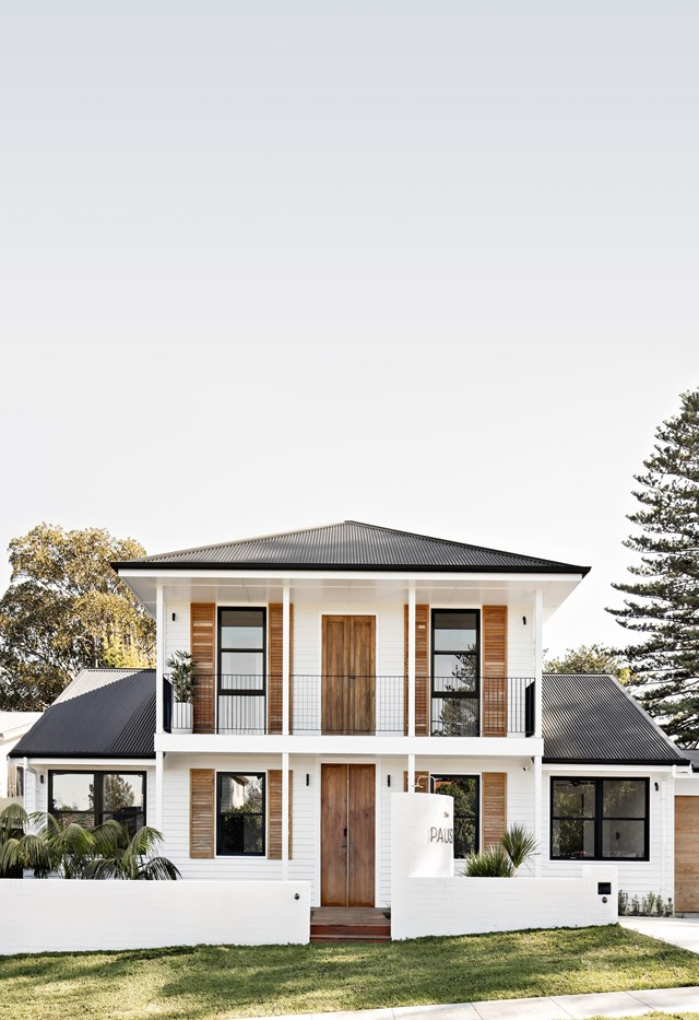 "**The Pause, Gerringong, NSW**<br> Since selling SOUL of Gerringong, Simone and Ben Mathews have been busy creating a luxurious new [holiday home in Gerringong, The Pause](https://www.homestolove.com.au/the-pause-gerringong-21792|target=""_blank""), which is set to open its doors in October. The five bedroom home blends an Australian coastal aesthetic with influences drawn from luxurious holiday properties found in the Bahamas and Singapore, as seen in the teak plantation shutters, white washed walls and lush palms surrounding the house. If you're looking for a place to escape with the whole family or a group of friends, The Pause is ideal. Visit [thepause.com.au](https://www.thepause.com.au/