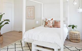 Andy and Deb guest bedroom The Block 2019