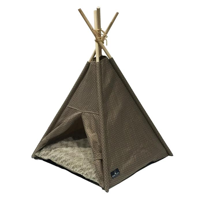 "This adorable teepee is the perfect hideaway for your cat or dog. Inside is a removable plush cushion for your pet to cuddle up on. 'Better Homes and Gardens Pet Teepee, $54.95, [BHG Shop](https://www.bhgshop.com.au/collections/pets/products/pet-tee-pee-bed?utm_source=website&utm_medium=website&utm_campaign=HTL|target=""_blank"")"