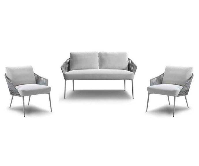 "'Quay Outdoor Package 1', $3351, [King Living](https://www.kingliving.com.au/furniture/outdoor-furniture/quay-outdoor-sofa/quay-outdoor-package-1|target=""_blank""