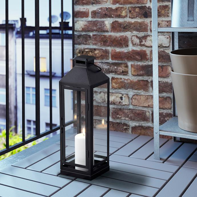 "LAGRAD Lantern block candle in black, $25, [Ikea](https://www.ikea.com/au/en/p/lagrad-lantern-f-block-candle-in-outdoor-black-70372638/|target=""_blank""|rel=""nofollow"")"