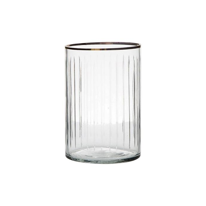 "Jennings Glass Hurricane, Medium, $45, [Living Styles](https://www.livingstyles.com.au/jennings-glass-hurricane-medium/|target=""_blank""|rel=""nofollow"")"