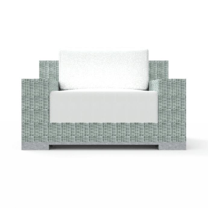 "'Frappant' armchair, from $3050, [Osier Belle](https://osierbelle.com.au/product/frappant-armchair/|target=""_blank""|rel=""nofollow"")"