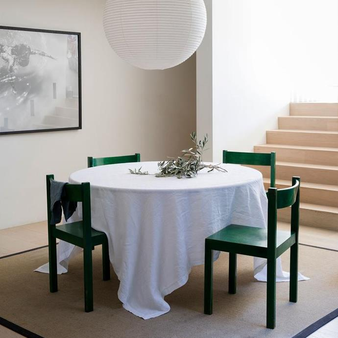 """**A linen tablecloth.** I'm sorry, but plastic table clothes are for kids parties. Enough said. Although I will add that this beautiful Cultiver tablecloth will last you years.<br> <br> Linen Tablecloth - White, $145, [Cultiver](https://cultiver.com.au/products/linen-tablecloth-white?variant=29382532923415