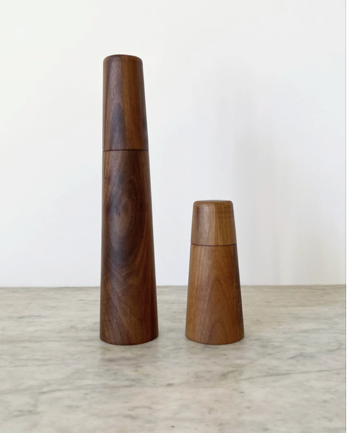 """Real **salt and pepper mills**. In the long run, swapping out the plastic ones is a great sustainable and financial move, just one of the great decisions you will be making now you're 30.<br> <br> Black walnut salt and pepper grinder mill, $70, [Imprint House](https://www.imprinthouse.net/products/copy-of-black-walnut-salt-and-pepper-mill?_pos=2&_sid=d152e5b50&_ss=r