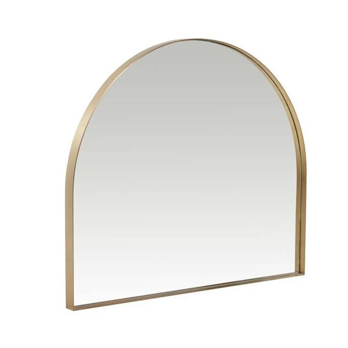 "Elle Arch Small Mirror, $1,030, [Globe West](https://www.globewest.com.au/browse/elle-arch-mirrors|target=""_blank""|rel=""nofollow"")"