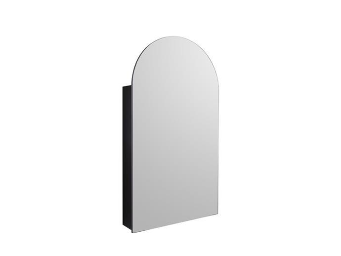 "Kado Neue Arch Mirrored Shaving Cabinet 500x900mm, $879, [Reece](https://www.reece.com.au/product/vanities-mirrors-c621/mirrors-cabinets-c623/mirrored-cabinets-c2582/kado-neue-arch-mirrored-shaving-cabinet-500x900mm-2351622|target=""_blank""|rel=""nofollow"")"