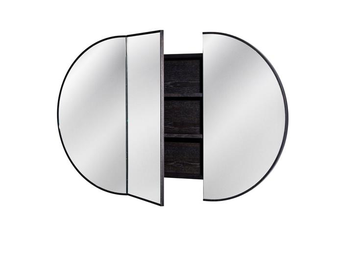 "Issy Halo 1500 x 900mm Rounded Triple Mirror with Shaving (Recessed), $3,050, [Reece](https://www.reece.com.au/product/vanities-mirrors-c621/mirrors-cabinets-c623/mirrored-cabinets-c2582/issy-halo-1500-x-900mm-rounded-triple-mirror-with-2399897|target=""_blank""