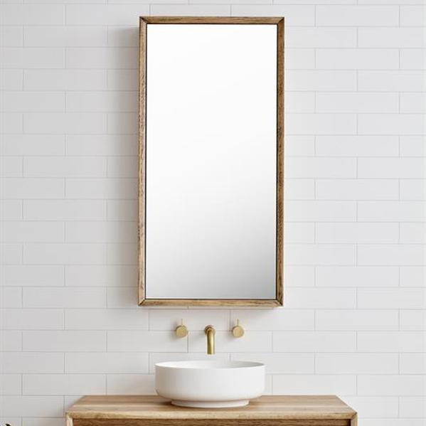 "Bayview Mirror Cabinet by Loughlin Furniture Designs, $1,113, [The Blue Space](https://www.thebluespace.com.au/products/loughlin-furniture-bayview-mirror-cabinet-600mm|target=""_blank""