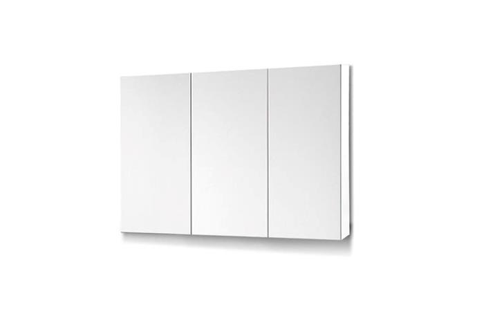 "Cefito Bathroom Mirror Storage Wall Cabinet Vanity Medicine White Shaving, $201.95, [Matt Blatt](https://www.mattblatt.com.au/mb/buy/90cm-mirrored-bathroom-vanity-with-cabinets-home-furniture/|target=""_blank""