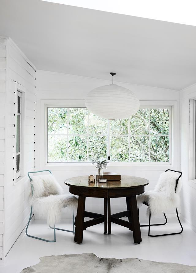 """**Engage in a round-table conversation.** [Round dining tables](https://www.homestolove.com.au/round-dining-room-table-design-ideas-19998
