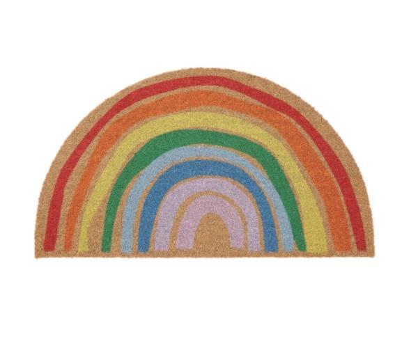 """'Pillemark' doormat, $19.99, [Ikea](https://www.ikea.com/au/en/p/pillemark-door-mat-indoor-rainbow-50481011/?gclid=CjwKCAjwzIH7BRAbEiwAoDxxTnmEeMGUrDY6V9UXVkkoXPJU_Bjq99Xu0B_sp-YOznxCNCEp9YfGihoCEp8QAvD_BwE target=""""_blank"""" rel=""""nofollow"""")"""