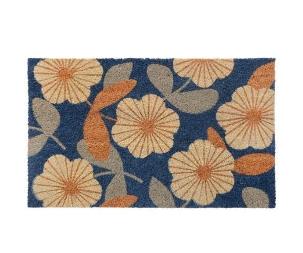 "Floral coir doormat, $22.95, [Zanui](https://www.zanui.com.au/Floral-Coir-Door-Mat-131833.html target=""_blank"" rel=""nofollow"")"