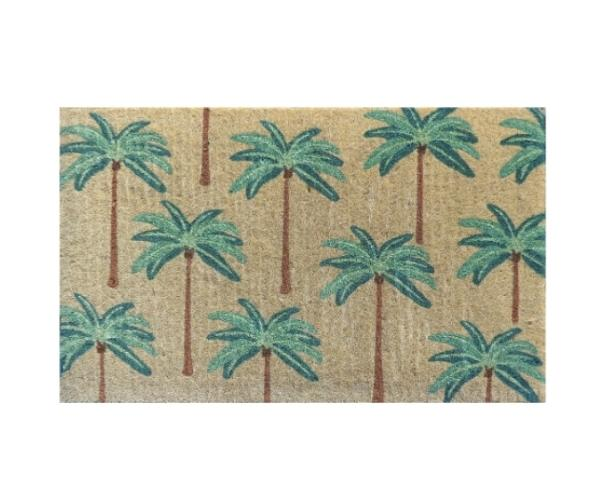 "Colonial palms doormat, $64.50, [Interiors Online](https://interiorsonline.com.au/products/colonial-palms-regular-doormat?utm_source=google&utm_medium=shopping&utm_term=&utm_campaign={campaign}&gclid=CjwKCAjwzIH7BRAbEiwAoDxxTqX7S1DkayddNKvNPykZJ_OaQmlG0wIEIqagd7N61qVH0y_fF5e0oRoCaQsQAvD_BwE target=""_blank"" rel=""nofollow"")"