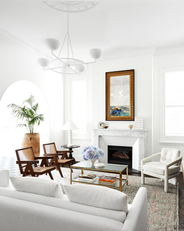 Decor and accessories can transform a drab living room into a comfortable, inviting space.
