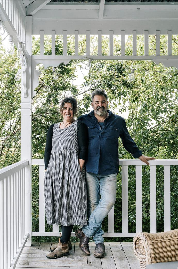 Theresa Albioli and Tony De Marco bought the house in 2018 after admiring it from afar for many years. They have a special connection to Daylesford, both personally and professionally.