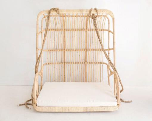 "Bondi Hanging Egg Chair, $979, [Oz Hammocks](https://www.ozhammocks.com.au/hanging-chairs/bondi-hanging-egg-chair?gclid=CjwKCAjw-5v7BRAmEiwAJ3DpuFBKL6NR3j1cW9VMlc3pPuLpLOmeOEt55lqjKaHWGdKt9wEBdwJ1yRoC3xAQAvD_BwE|target=""_blank""|rel=""nofollow"")"