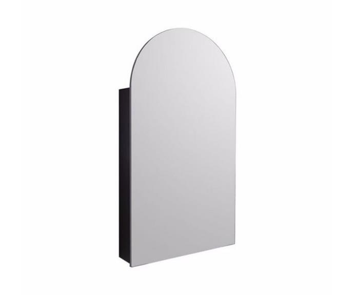 "Kado Neue Arch Mirrored Shaving Cabinet 500x900mm, $879, [Reece](https://www.reece.com.au/product/kado-neue-arch-mirrored-shaving-cabinet-500x900mm-2351622|target=""_blank""|rel=""nofollow"")"