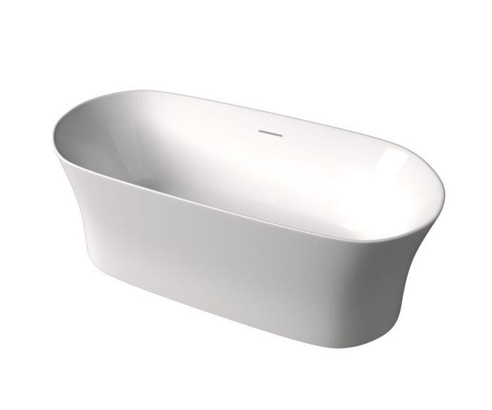 "Roca Inspira Freestanding Bath with Overflow 1800mm x 800mm in White, $2279, [Reece](https://www.reece.com.au/product/roca-inspira-freestanding-bath-with-overflow-9508940|target=""_blank""|rel=""nofollow"")"