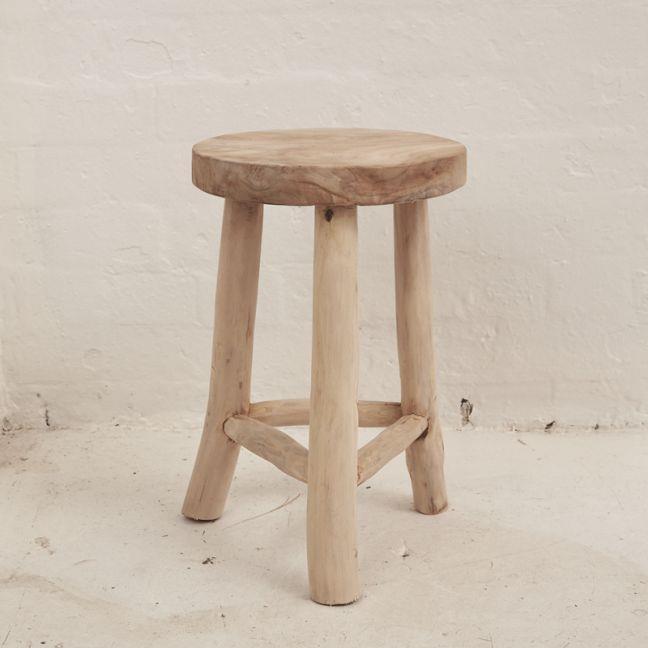 "Lale Rustic Milking Stool, $189, [The Block Shop](https://www.theblockshop.com.au/product/lale-rustic-milking-stool-46cm/|target=""_blank""|rel=""nofollow"")"
