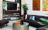 How to arrange furniture around a television