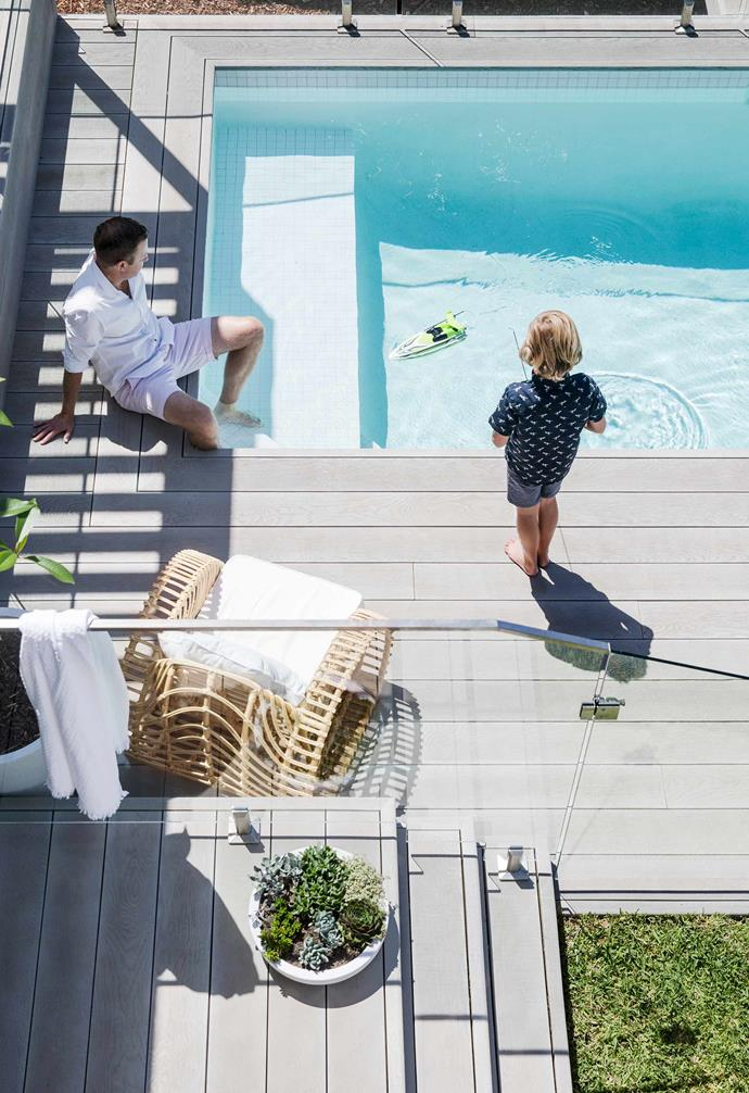 """In the creation of their dream [Hamptons-inspired home](https://www.homestolove.com.au/all-white-hamptons-style-home-21036
