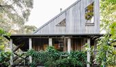 A unique cabin-style home in Victoria's Otway Ranges