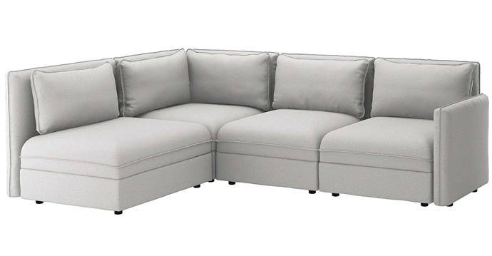 "VALLENTUNA 3-seat corner modular sofa, from $1885, [IKEA](https://www.ikea.com/au/en/p/vallentuna-modular-corner-sofa-3-seat-with-storage-orrsta-light-grey-s09277961/|target=""_blank""