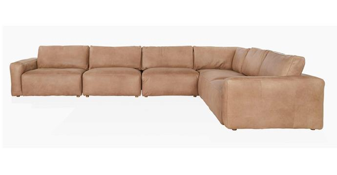 "Soren modular sofa, from $2695 per piece, [Coco Republic](https://www.cocorepublic.com.au/the-soren-modular-sofa-9798|target=""_blank""