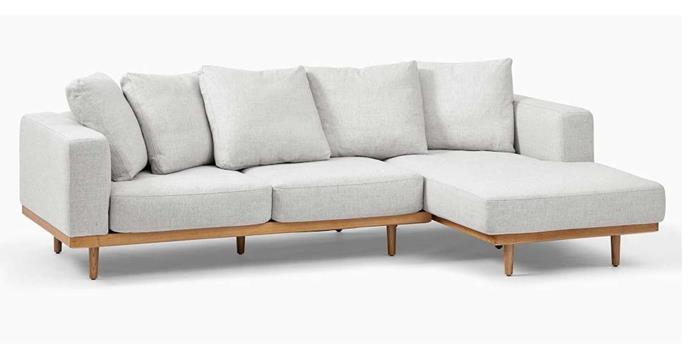 "Newport 4-seater chaise modular sofa, $4199, [West Elm](https://www.westelm.com.au/newport-2-piece-chaise-sectional-h5006|target=""_blank""|rel=""nofollow"")."