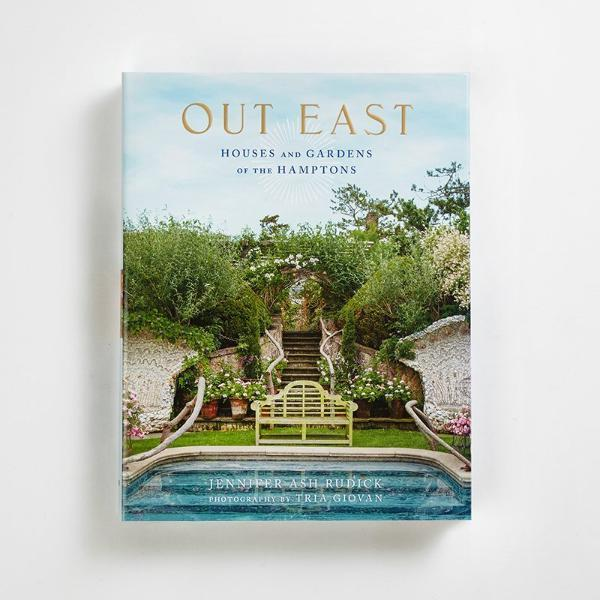 "Out East: Houses and Gardens of the Hamptons, $119, [The Boathouse Home](https://www.theboathousehome.com.au/products/outeastbook|target=""_blank""
