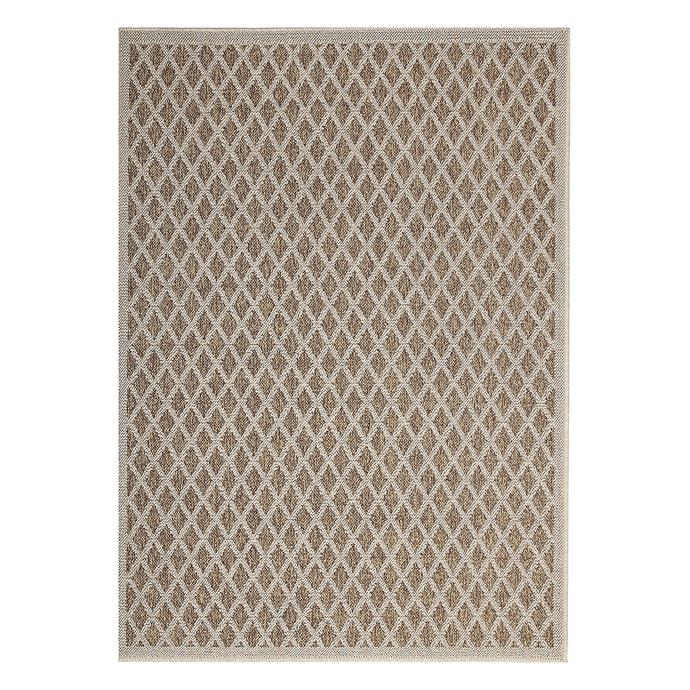 """Helping to make the space feel more homely, [outdoor rugs](https://www.homestolove.com.au/outdoor-rugs-21313 target=""""_blank"""") add warmth and sophistication to alfresco dining areas. <br><br>Harvelle Indoor/Outdoor Rug, $86.40 (120cmx170cm), [Zanui](https://www.zanui.com.au/Harvelle-Indoor-Outdoor-Rug-172382.html target=""""_blank"""" rel=""""nofollow"""")"""