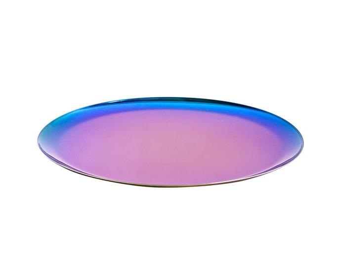 "Rainbow serving tray, $64, [HAY](https://hayshop.com.au/products/serving-tray-rainbow-o28cm?_pos=14&_sid=b8ac31cf3&_ss=r target=""_blank"" rel=""nofollow"")"