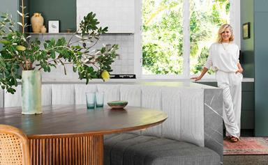 Michael and Carlene's dreamy new home renovation in Tallebudgera