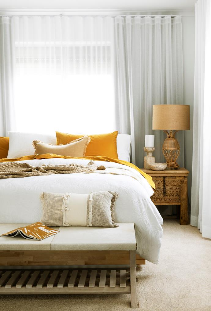 Both subtle and striking, creamy yellows feel soft, warm, tactile and incredibly comforting.