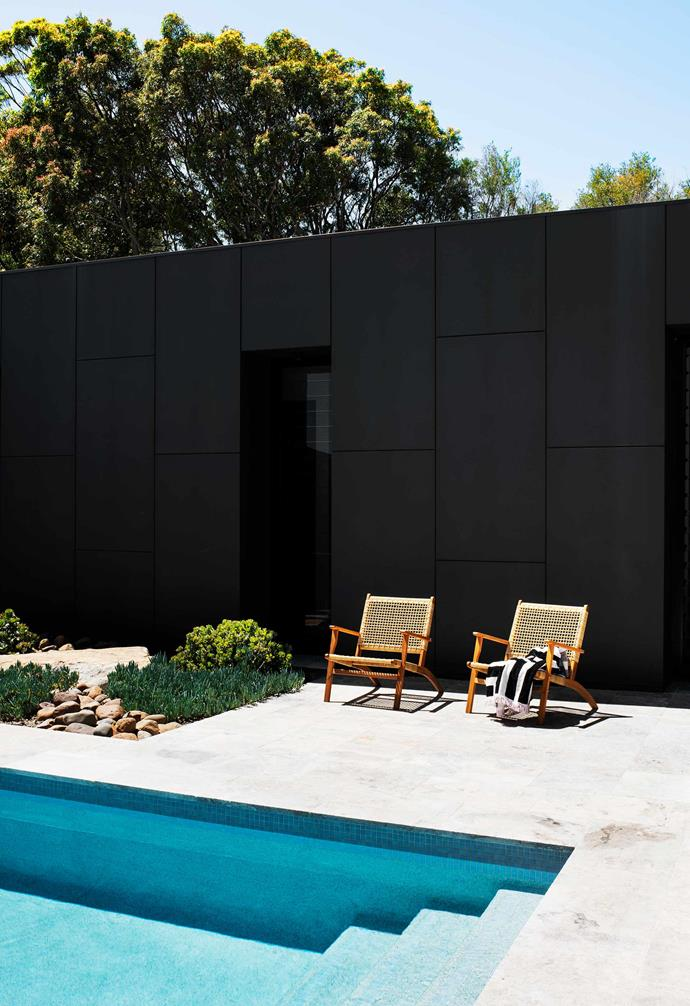 """**Pool area** Architect [Matt Thitchener](https://mtarch.com.au/