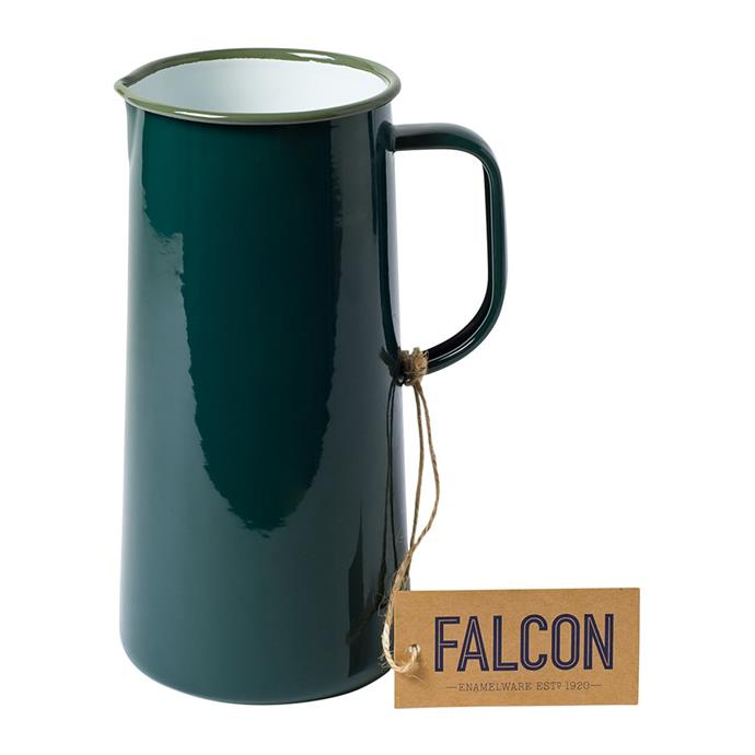 "Falcon Samphire Green Enamel Jug, $74, [Amara](https://www.amara.com/au/products/samphire-green-enamel-jug-3-pints target=""_blank"" rel=""nofollow"")"