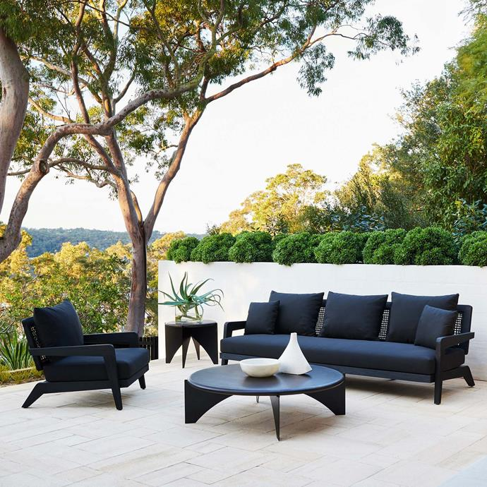 "Claude Outdoor Sofa, $4,995, [Coco Republic](https://www.cocorepublic.com.au/claude-outdoor-sofa-94|target=""_blank""