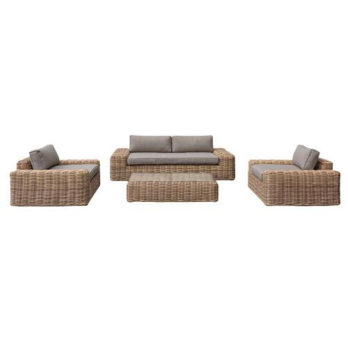 "Hartman 5 Seater Natural Yates PE Wicker Outdoor Sofa Set, $4,499, [Temple & Webster](https://www.templeandwebster.com.au/4-Seater-Natural-Yates-PE-Wicker-Outdoor-Sofa-Set-41666.0032-HARI1105.html|target=""_blank""