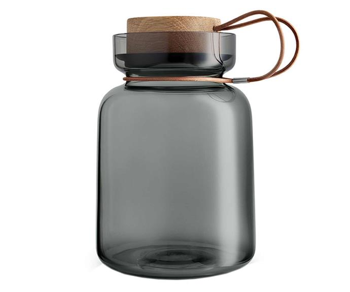 """Eva Solo Silhouette storage jar 1.5L, $150, [Top3 By Design](https://top3.com.au/categories/kitchen-and-dining/storage-containers/eva-solo-sihouette-jars/es-591503