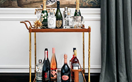 4 ways to style a sophisticated drinks trolley