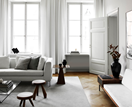 A designer's timelessly chic Scandinavian apartment