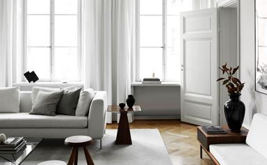 A designer's timelessly chic Scandinavian apartment