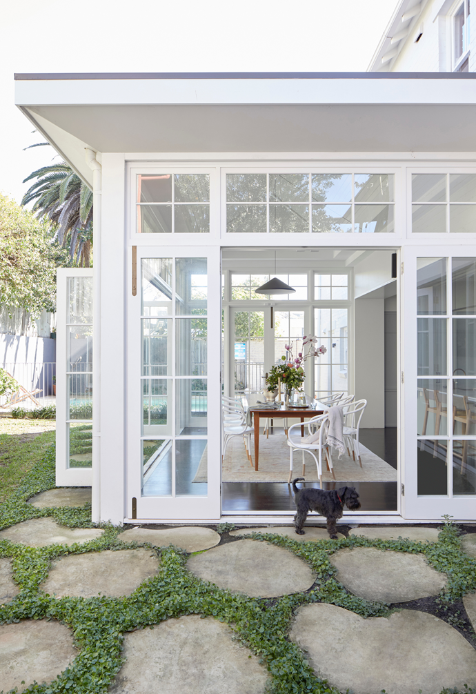 """It's even more beautiful than I imagined,"" says Sarah. ""I wanted a modern-style Edwardian conservatory; a space that feels like an [outdoor room](https://www.homestolove.com.au/inviting-outdoor-room-ideas-19144